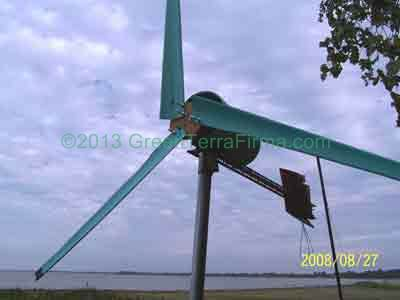 DIY Wind Turbine Project