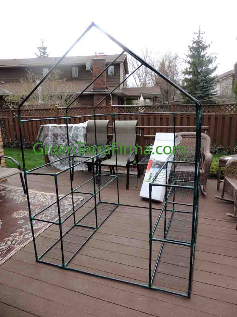 Backyard Greenhouse Frame