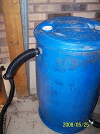 rainbarrel overflow