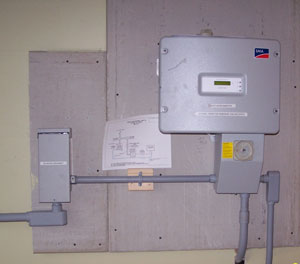 inverter and combiner box
