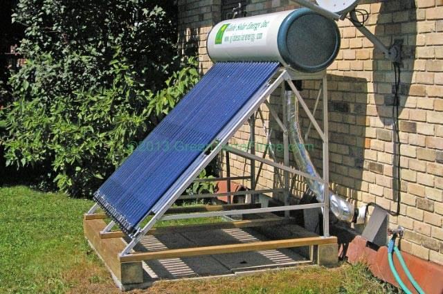 Types Of Evacuated Tube Solar Collectors